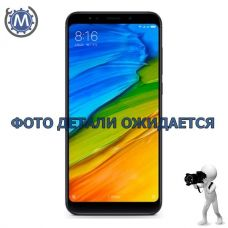 Крышка Xiaomi Redmi 5 Plus Black панель задняя - оригинал