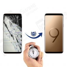 Ремонт Samsung Galaxy S9+ Plus: замена дисплея (экрана)