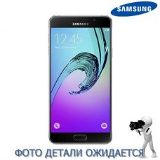 Основа корпуса (рамка) Samsung A7 2016 Pink gold, GH96-09404D, совм.: A710