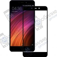 Защитное стекло Xiaomi Redmi 4/4 Prime Black Full Screen