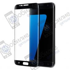 Защитное стекло Samsung S7 Edge (G935) 3D Black Full Screen