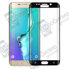 Защитное стекло Samsung S6 Edge (G925) 3D Black Full Screen
