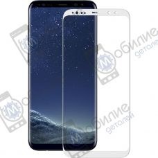 Защитное стекло Samsung S8 (G950) Silver Full Screen
