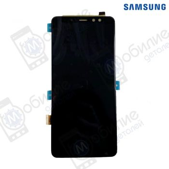 Дисплей Samsung A8+ Plus 2018 (модуль экран + тачскрин) SM-A730* Black/Gray/Gold, GH97-21534A