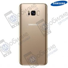 Крышка задняя Samsung S8 Plus Galaxy G955 Gold