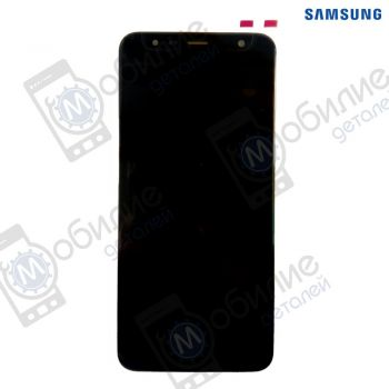 Дисплей Samsung J4+ J6+ Plus 2018 (модуль экран + тачскрин) SM-J415*, J610* Black/Gray/Gold/Pink/Red, GH97-22582A
