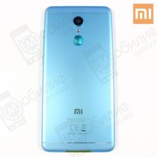 Крышка Xiaomi Redmi 5 Blue - оригинал